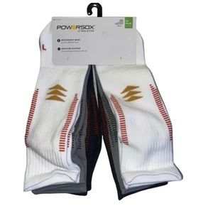 Powersox by Gold Toe 6 Pair Mens Sport Ankle Socks